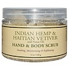 Nubian Heritage, Hand & Body Scrub, Indian Hemp & Haitian Vetiver, with Neem Oil, 12 oz (340 g)