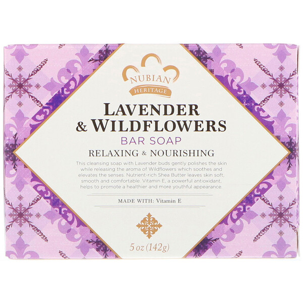 Lavender & Wildflowers Bar Soap, 5 oz (142 g)