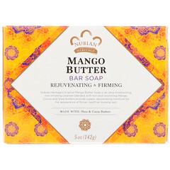 Nubian Heritage, 芒果脂香皂,5盎司(142克)