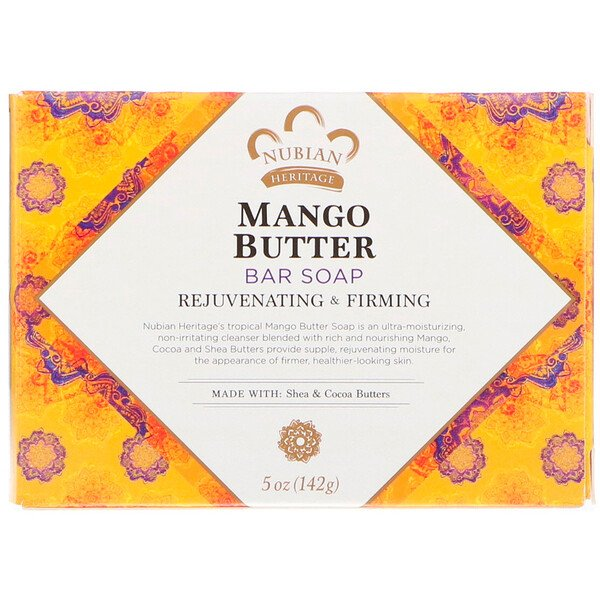 Mango Butter Bar Soap, 5 oz (142 g)