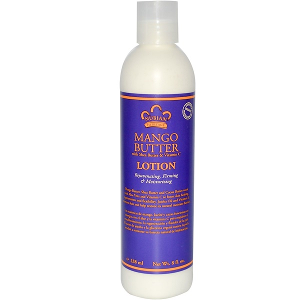 Nubian Heritage, Mango Butter Lotion, 8 fl oz (238 ml) (Discontinued Item)