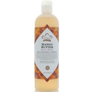 Nubian Heritage, Body Wash, Mango Butter, 13 fl oz (384 ml)