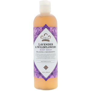 Нубиан Херитадж, Body Wash, Lavender & Wildflowers, 13 fl oz (384 ml) отзывы