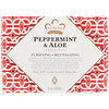 Nubian Heritage, Peppermint & Aloe Bar Soap, 5 oz (142 g)