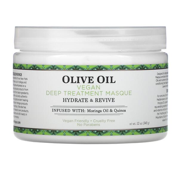 Olive Oil, Vegan Deep Treatment Masque, 12 oz (340 g)