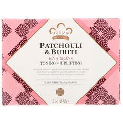 Nubian Heritage, Patchouli & Buriti Soap , 5 oz / 141 g