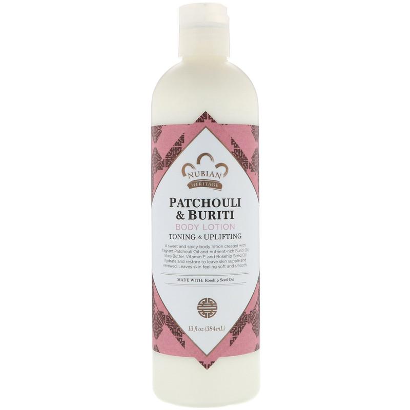 Body Lotion, Patchouli & Buriti , 13 fl oz (384 ml)