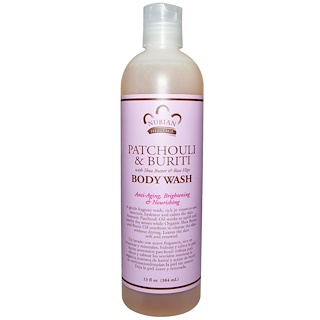 Nubian Heritage, Body Wash, Patchouli & Buriti , 13 fl oz (384 ml)