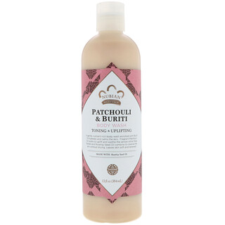 Nubian Heritage, Body Wash, Patchouli & Buriti, 13 fl oz (384 ml)