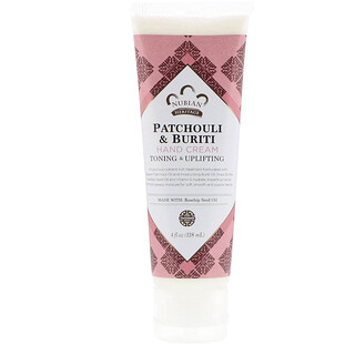 Nubian Heritage, Patchouli & Buriti Hand Cream, 4 fl oz (118 ml)