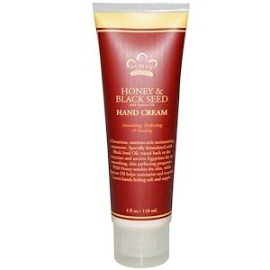 Нубиан Херитадж, Hand Cream, Honey & Black Seed with Apricot Oil, 4 fl oz (118 ml) отзывы покупателей