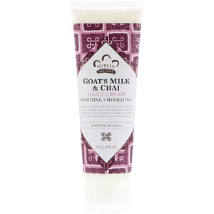 Нубиан Херитадж, Hand Cream, Goat's Milk & Chai, 4 fl oz (118 ml) отзывы покупателей