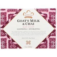 Nubian Heritage, Goat's Milk & Chai Bar Soap, 5 oz (142 g)