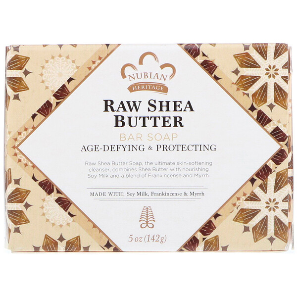 Raw Shea Butter Bar Soap, 5 oz (142 g)