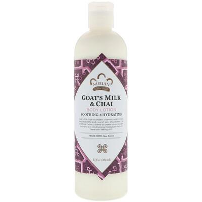 Лосьон для тела, козье молоко и чай, 384 мл (13 fl oz)
