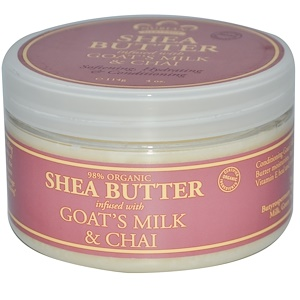 Нубиан Херитадж, Shea Butter, Infused with Goat's Milk & Chai, 4 oz (114 g) отзывы покупателей