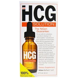 Nigen Biotech, The HCG Solution, 2 fl oz (60 ml)