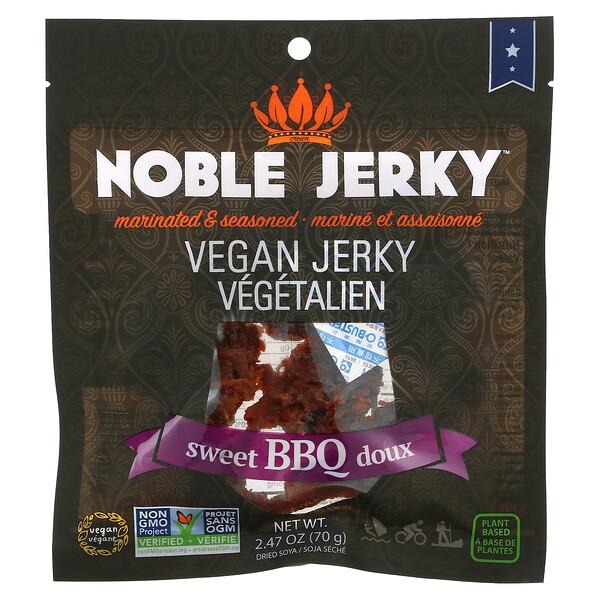 Vegan Jerky, Sweet BBQ Doux, 2.47 oz (70 g)