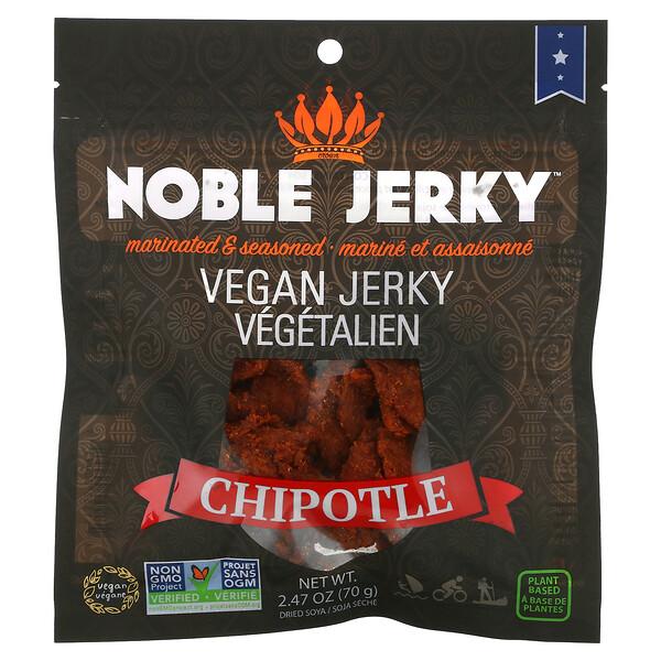 Vegan Jerky, Chipotle, 2.47 oz (70 g)