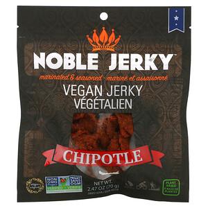 Noble Jerky, Vegan Jerky, Chipotle, 2.47 oz (70 g)'