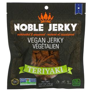 Noble Jerky, Vegan Jerky, Teriyaki, 2.47 oz (70 g)