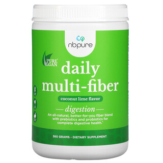 NB Pure, Daily Multi-Fiber, Coconut Lime, (360 g)