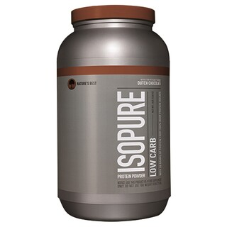 Nature's Best, IsoPure, Low Carb Protein Powder, Dutch Chocolate, 3 lb (1361 g)