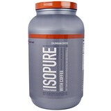 Isopure, 蛋白粉含咖啡,哥倫比亞咖啡,3磅(1361克)