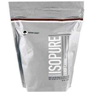 Isopure, IsoPure, Protein Powder, Zero Carb, Cookies & Cream, 1 lb (454 g) отзывы