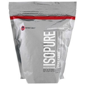 Isopure, Isopure, Protein Powder, Zero Carb, Strawberries & Cream , 1 lb (454 g) отзывы покупателей