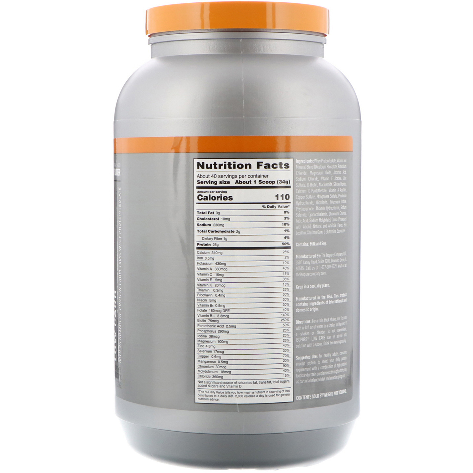 low carb protein powder reviews