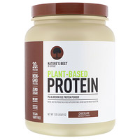 Nature's Best, IsoPure, Plant-Based Protein, Chocolate, 1.37 lb (621 g)