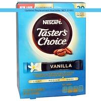 Taster's Choice, растворимый кофейный напиток, ваниль, 20 пакетиков, 0,07 унций (2 г) каждый - фото
