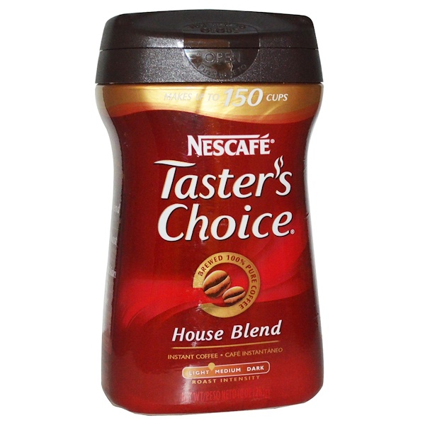 Nescafé, Taster's Choice, Instant Coffee, House Blend, 10 oz (283 g) (Discontinued Item)