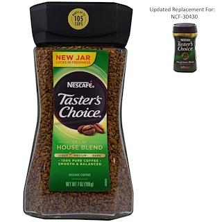 Nescafé, Taster's Choice, Instant Coffee, Decaf House Blend, 7 oz (198 g)