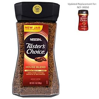 Nescafé, Выбор дегустатора , растворимый кофе, фирменная смесь, 7 унций (198 г)