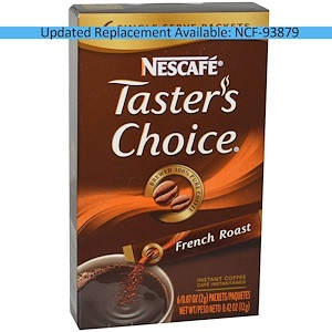 Нескафе, Taster's Choice, Instant Coffee, French Roast, 6 Packets, 0.07 oz (2 g) Each отзывы покупателей