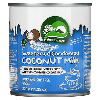 Nature's Charm, Sweetened Condensed Coconut Milk, 11.25 oz (320 g)