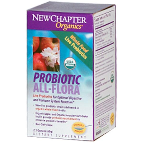 New Chapter, Organics, Probiotic All-Flora, 2.1 oz (60 g) (Discontinued Item)