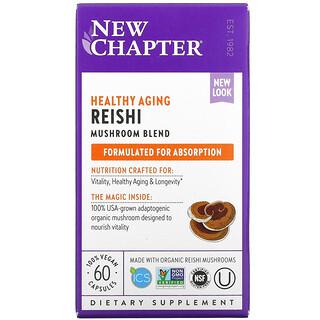 New Chapter, Reishi, 60 Vegan Capsules