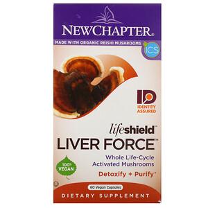 Нью Чэптэ, Lifeshield Liver Force, 60 Vegan Capsules отзывы