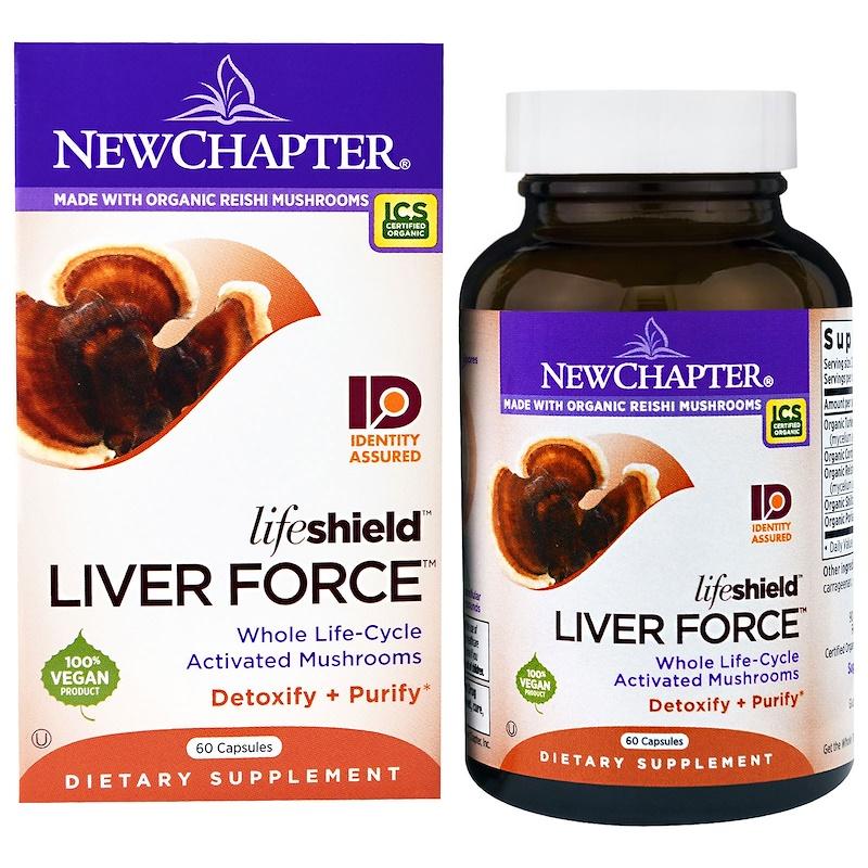 Lifeshield Liver Force, 60 Capsules