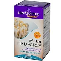 New Chapter, Organics, Lifeshield, Mind Force, 60 Veggie Caps