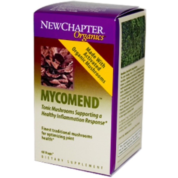 New Chapter, Organics, Mycomend, 60 Vcaps (Discontinued Item)