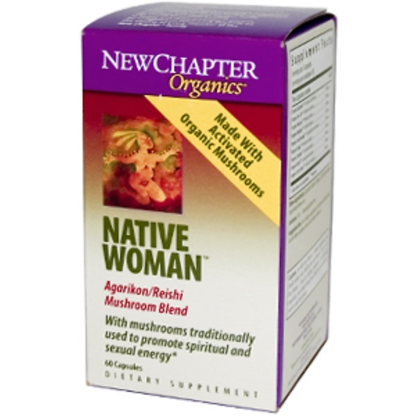 New Chapter, Organics, Native Woman, 60 Capsules (Discontinued Item)