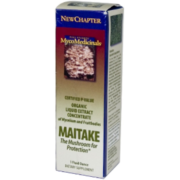 New Chapter, Maitake, 1 fl oz (Discontinued Item)