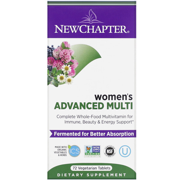 Women's Advanced Multi, 72 Vegetarian Tablets