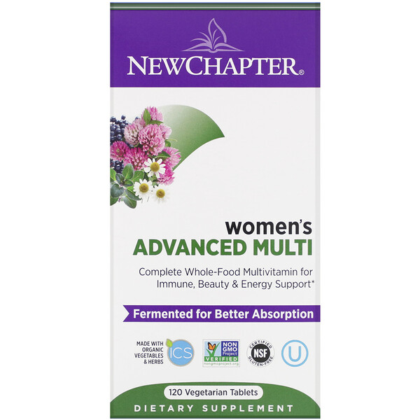 Women's Advanced Multi, 120 Vegetarian Tablets