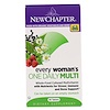 New Chapter, Multivitamínico 1 diaria Every Woman, 48 tabletas