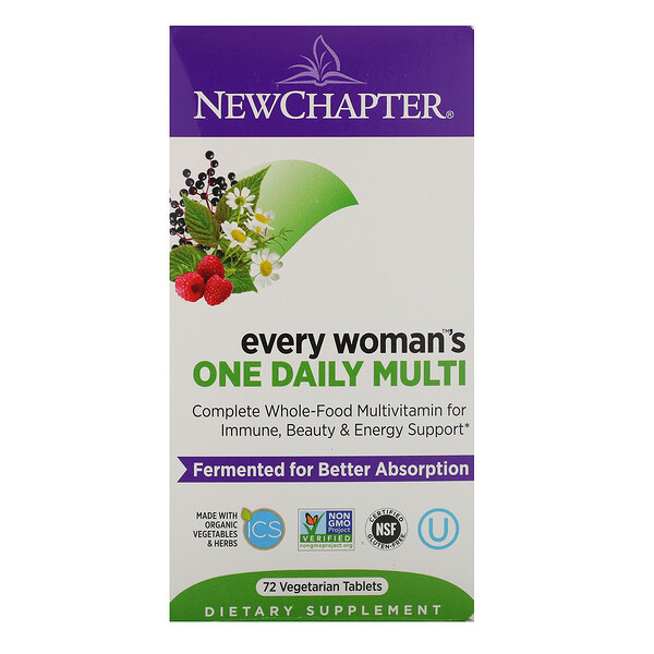Every Woman's One Daily Multi, 72 Vegetarian Tablets